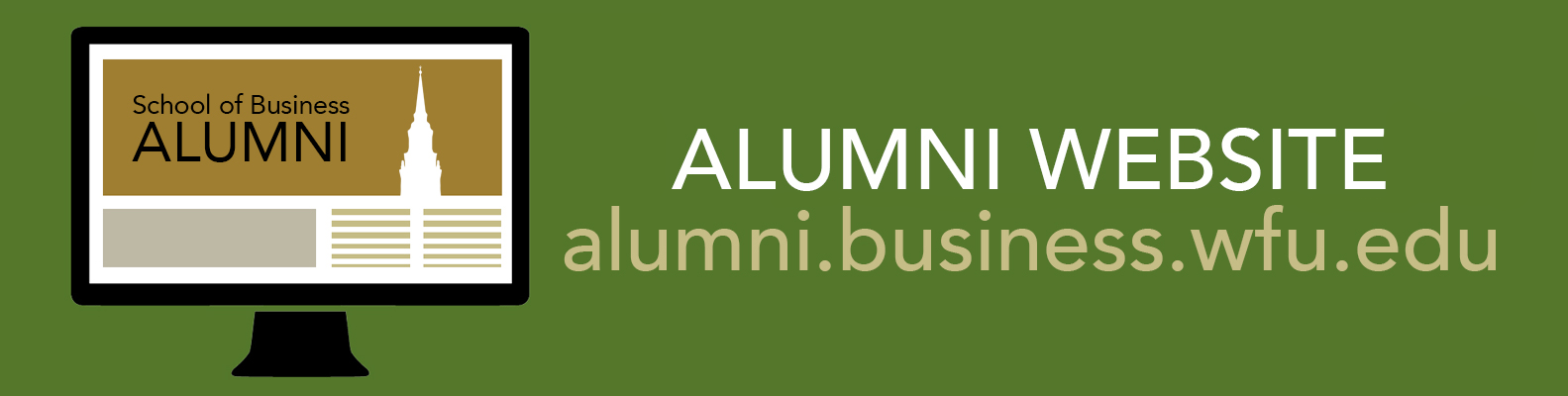 Wake Forest School of Business Alumni Website