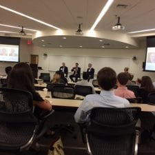 Consulting panel at WFU Charlotte Center 4-13-17