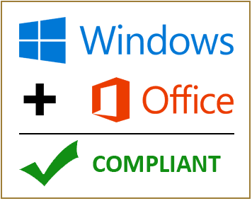 Windows + Office = Compliant